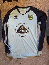 Norwich City 19/20 Goalkeeper Football Shirt Academy Match Worn Size Xl