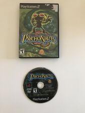 Psychonauts Sony PlayStation 2 PS2 System Game & Case- FREE SHIPPING!