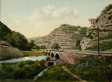 Ahrtal. Bunte Kuh. P.Z., photochromie, vintage photochrome, Deutschland photoc