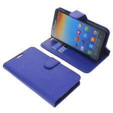 Funda para Lenovo A616 Book Style Protectora Teléfono Móvil Estilo Libro Azul