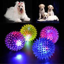 1Pcs Light-Up Spinny Balls Dog Cat Catch Ball LED Flashing Sensory Blinking Toy