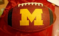 "Vintage Michigan Wolverines Team Franklin Football 10.5"""