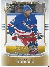 2014-15 MVP ANTHONY DUCLAIR #315 Rookie Redemption New York Rangers