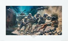 """Into the Breach"" Ranger Print (Public edition) by Stuart Brown"