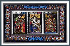 GHANA - 1972 - Natale: dipinti e vetrate