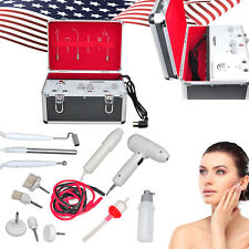USA 5in1 High Frequency Galvanic Vacuum Spray Spa Salon Beauty Electrotherapy