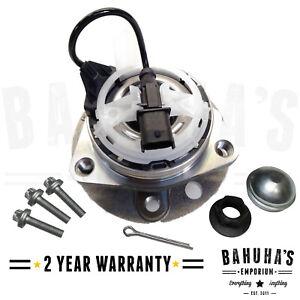 Saab 9-3 Front Wheel Bearing Hub Kit Includes ABS Sensor