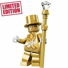 Mr Gold - Collectible Custom Series 10 Lego Minifigure LIMITED EDITION
