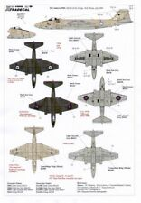 Xtradecal Decals 48066 1/48 38 Years of The Canberra Pr9 Xh168 & Xh165