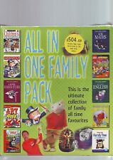 ALL IN ONE FAMILY PACK - 27 PC GAMES & SOFTWARE - BIG BOX EDITION - NEW & SEALED