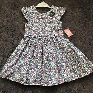 Matalan Baby Girls Floral Dress Occasion Party Wedding Age 3-4 Years