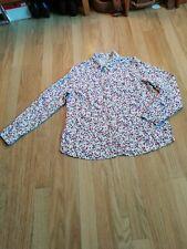EWM ditsy print blouse size 14