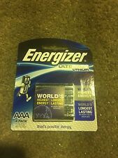 genuine  Energizer 1 X 4 AAA Ultimate LITHIUM battery brand new free postage