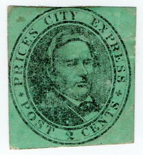 (I.B) US Local Post : Price's City Express Post 2c