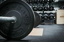 Bumper Weight Plates Black Rubber Olympic 5kg 10kg 15kg 20kg 25kg Gym