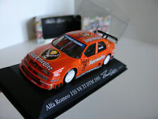 1/43 ALFA ROMEO 155 V6 TI #19 DTM 1995 JAGERMEISTER BARTELS MINICHAMPS