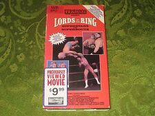 LORDS OF THE RING SUPERSTARS & SUPERBOUTS VHS RARE WRESTLING MATCHES NOT ON DVD!