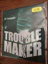 Dr. Neubauer Trouble Maker Table Tennis Long Pimple Rubber OX (No Sponge) Red