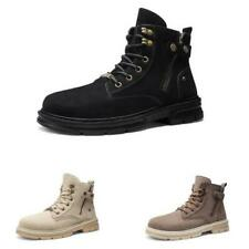 Mens High Top Work Ankle Boots Shoes Outdoor Walking Sports Round Toe Non-slip D
