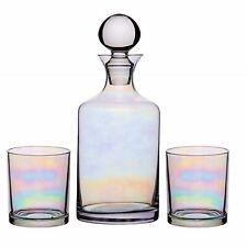 Luxury Whisky Decanter Gift Set Glasses Lustre Whiskey Caraffe Bottle Boxed