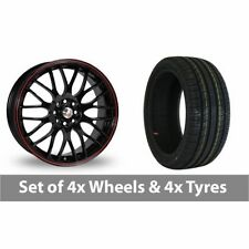 2 Calibre Aluminium Wheels with Tyres