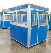New 5'x5' Security / Ticket / Valet Parking Booth Prefabricated  Office / Kiosk