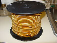 ANTIQUE STYLE GOLD RAYON COVERED WIRE FOR ALADDIN  LAMPS, 16 FEET  (002)