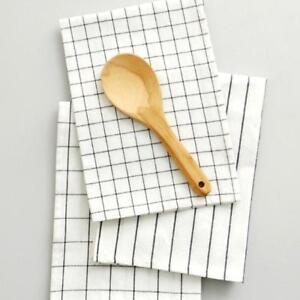 Dishcloth Napkin Cleaning Cloth Kitchen Accessories Colorfast Towel KS