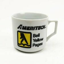 Rare Vintage Ameritech Bell Yellow Pages Coffee Cup