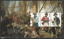 (RNU1) GB QEII Stamps. Royal Navy Uniforms Prestige Booklet Pane ex DX47 2009