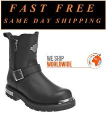 """Harley-Davidson® D96090 Men's 7.5"""" Startex Leather Motorcycle Riding Boots"""