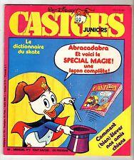 ► MENSUEL CASTORS JUNIORS N°6 - 1978 - SPECIAL MAGIE - DICTIONNAIRE DU SKATE