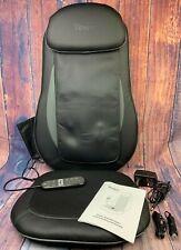Tespo Shiatsu Massage Cushion Heat Chair Pad Kneading Back Massager Home Car