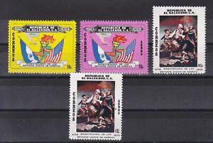 6475 El Salvador 200 Jahre Amerika 1174-77 postfrisch