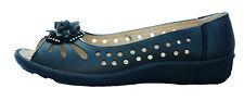 Womens New Annabelle Monique Leather White Black Sandals Flat Beach Shoes UK 3-8