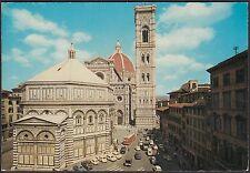 AA4371 Firenze - Città - Duomo e Battistero - Cartolina - Postcard