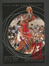 23 Nuits de Jordan Upper Deck 1996 Carte #15 30 40 Point Gamie 3/19/87