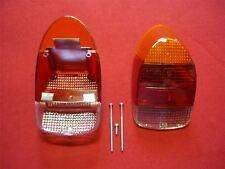 VW 1303 Beetle 1968 1973 Rear Light Lens Amber Red 111945241M