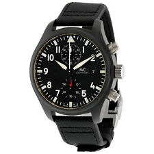 IWC Pilot's Top Gun Automatic Chronograph Mens Watch IW389001