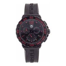NEW Tag Heuer Formula 1 Chronograph Men's Black & Red Dial Watch CAU111D.FT6024