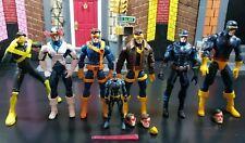 Marvel legends cyclops lot xmen magneto sabertooth Pyro Phoenix jubilee beast
