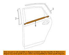 TOYOTA OEM 12-16 Prius V Rear-Window Sweep Belt Felt Molding Left 7574047031