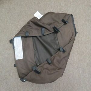 Bugaboo Frog CameleonBaby Bassinet Fabric Carrycot Stroller Brown Carrier Canvas