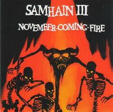 SAMHAIN (Danzig, Misfits) - NOVEMNER-COMING-FIRE (1986/2001) CD Jewel Case+GIFT
