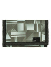 QUIKSILVER MENS WALLET.NEW EVERYDAY GREEN MONEY/NOTE/COIN PURSE 7S/3468/KVJ9