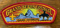 Grand Teton Council 1999 SA-43 District Thank You Csp Mint Cond FREE SHIPPING