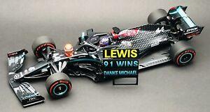 1/43 Minichamps Lewis Hamilton Mercedes AMG W11 2020 Eifel Grand Prix Schumacher