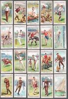 1907 Stephen Mitchell's Cigarettes Sports Tobacco Cards Complete Set of 25