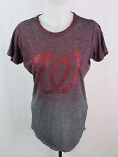 Touch Washington Nationals MLB Women's Grey T-Shirt Size Med  LK600