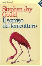 GOULD Stephen Jay, Il sorriso del fenicottero. Feltrinelli, Saggi, 1987